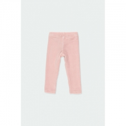 Leggings Boboli rose/gerippt