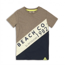 T-Shirt DJ mint/dunkelblau Beach Co. 1982